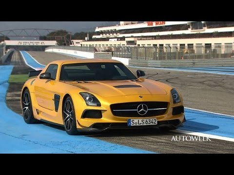 2014 Mercedes-Benz SLS AMG Black Series - drive review video
