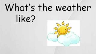 WEATHER (vocabulary)