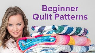 Easy Quilt Patterns for Beginners | 3-Part Beginner Quilting Series with Angela Walters