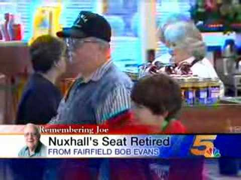 Nuxhall's Breakfast Stool Going to Reds Hall of Fame