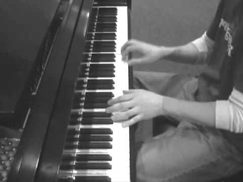 NOT WHILE IM AROUND - GLEE / Sweeney Todd piano cover