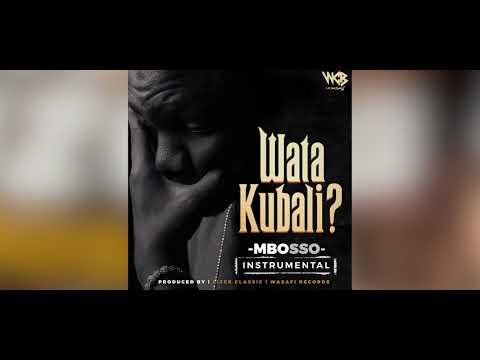 Mbosso - Watakubali Instrumental(Official Audio)