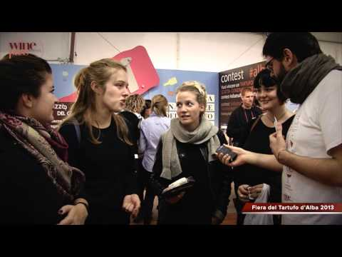 Alba Truffle Fair - Flash Interview - A cooking class from Denmark!