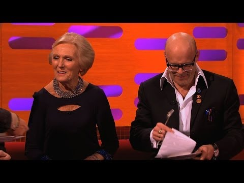 Mary Berry forgets the cake - The Graham Norton Show: Episode 8 - BBC One