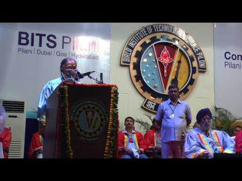 Convocation 2012 of address by her excellency Smt. Margaret Alva (Governor of Rajasthan)(HD)