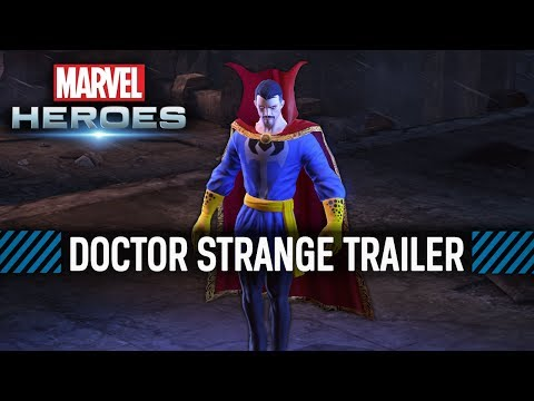 Marvel Heroes - Doctor Strange Trailer
