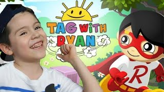 TAG WITH RYAN IS SO MUCH FUN!!! The new game from Ryan's toy review!