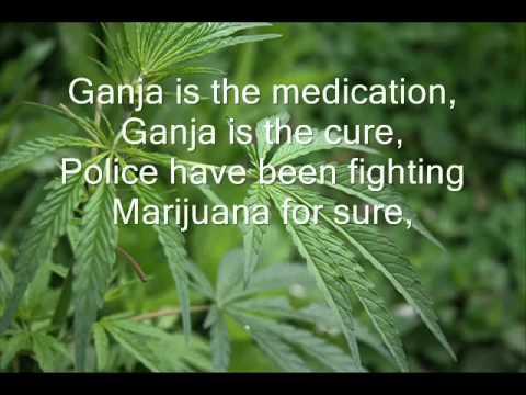 Bob Marley | Ganja in My Brain with Lyrics