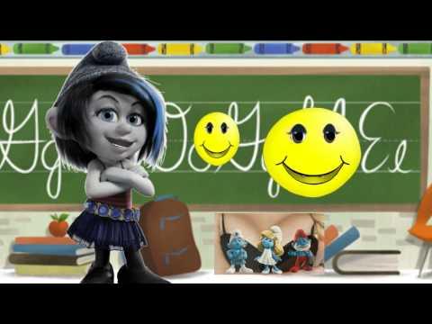 Смурфики 2  The Smurfs 2 Начало нового учебного года. День знаний. Рождение Смайликов.