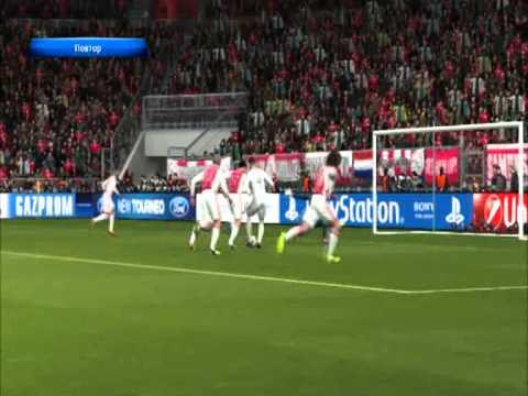 PES 2014 (PS3) Ajax vs Real Madrid - UEFA Champions League