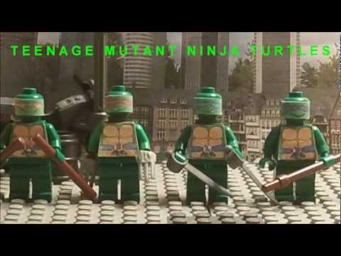 Lego Teenage Mutant Ninja Turtles Theme