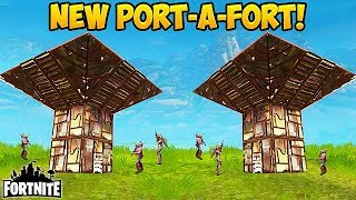 NEW 'PORT-A-FORT' BEST PLAYS! - Fortnite Funny Fails and WTF Moments! #162 (Daily Moments)