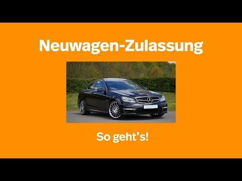 Neuwagen-Zulassung: so geht's I Kennzeichenbox.de