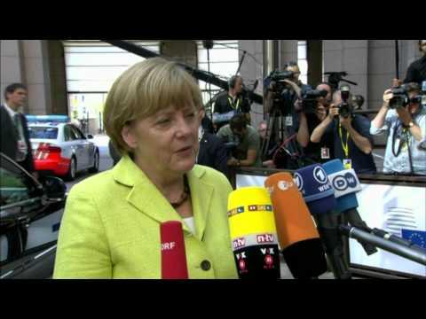 Special meeting of the European Council - Angela MERKEL, German Federal Chancellor