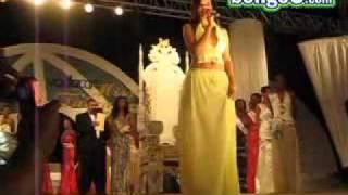 Wema Sepetu gives final speech at Miss Tanzania 2007