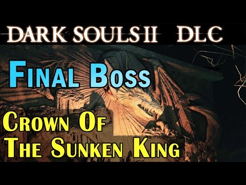 Dark Souls 2 Dlc Crown Of The Sunken King - Final Boss Sinh The Slumbering Dragon Gameplay 1080p video