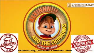Download Lagu Machine Gun Kelly, X Ambassadors & Bebe Rexha - Home | Alvin and the Chipmunks (official) Gratis STAFABAND