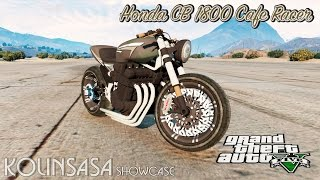 GTA 5 Honda CB 1800 Cafe Racer