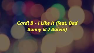 Download Cardi B Bad Bunny amp J Balvin  I Like It TRADUOLEGENDADO MP3
