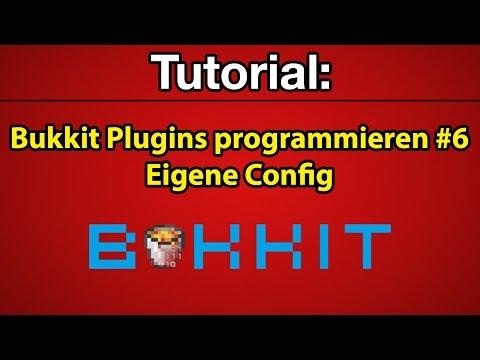 Tutorial: Bukkit Plugins programmieren #6 - Eigene Config [Deutsch] [Full-HD]