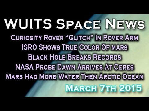 NASA Curiosity Rover Short Circuit, ISRO Shows Mars True Color & More! WUITS Space News