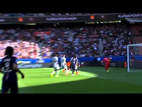 PSG 2 x 0 Bastia Campeonato Francês 16/08/14