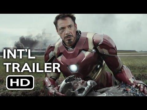 Captain America: Civil War International Trailer #1 (2016) Chris Evans, Robert Downey Jr. Movie HD