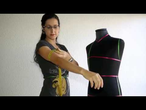 Como tomar las medidas (sastreria de hombre), how to take body measurements (men's tailoring)