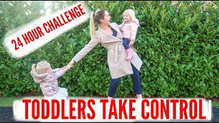 24 HOUR CHALLENGE SAYING YES TO EVERYTHING MY KIDS SAY/ TODDLERS MAKE ALL THE DECISIONS!