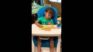 Funny baby - Winyuchannel #47 - Sleeping eating!!!