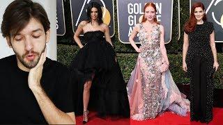 2018 Golden Globes Fashion Review | Michael Buchinger