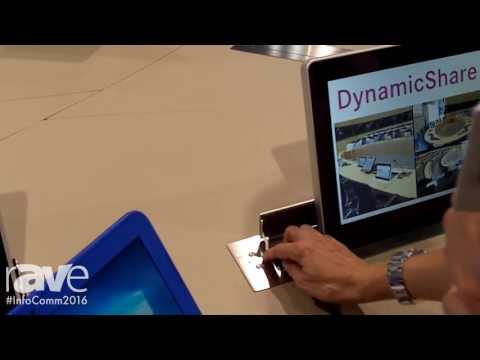 InfoComm 2016: Arthur Holm Demos DynamicShare