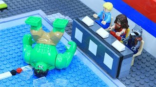 Lego Avenger Swimming Pool: Wakanda Diving Championships 2018 | Infinity War - Behind The Battle