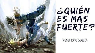 ¿QUIEN ES MÁS FUERTE VEGETTO O GOGETA? 🤔 ¡¡¡VEGETTO VS GOGETA CONFIRMADO!! | MHARIO HERNÁNDEZ