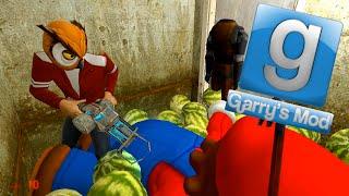 Garry's Mod Sandbox Fun - Scary Maps, C4 Traps, Watermelon Fun Zone (Gmod Funny Moments)