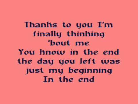 Stronger (What Doesnt Kill You) - Kelly Clarkson (lyrics)