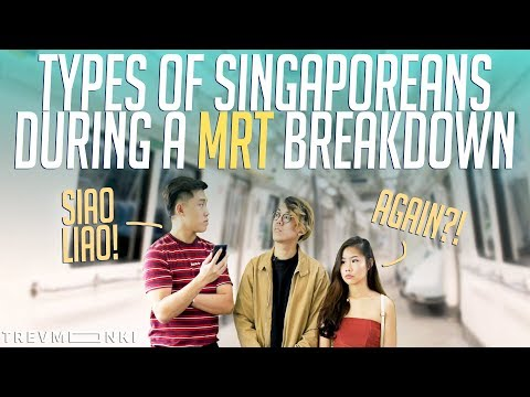11 Types of Singaporeans During a MRT Breakdown | Singapore