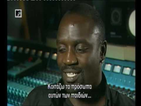 When Akon met Michael Jackson...