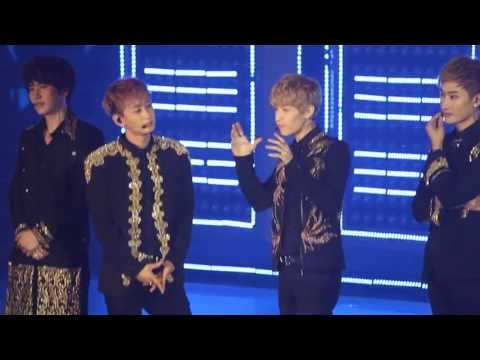 130615 Super Junior SS5 HK: Henry Lau introducing himself in Cantonese! (With other SJ members)