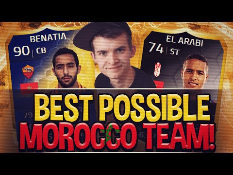 FIFA 14 | THE BEST POSSIBLE MOROCCO TEAM!