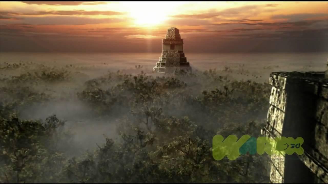 Tikal Guatemala hd Tikal 3d hd