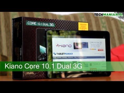 Wideo test i recenzja tabletu Kiano Core 10.1 Dual 3G   techManiaK.pl