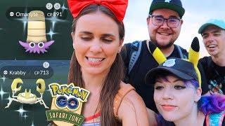 SHINY COMEBACK in the LAST 30MIN!! Sentosa Safari Zone Pokémon GO