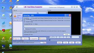 How to convert a video to .3gp using Total Video Converter