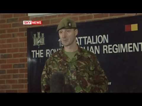 Sky News- Tribute to 100th Afghan War Victim- L/Cpl Adam Drane 1 Royal Anglian 2009