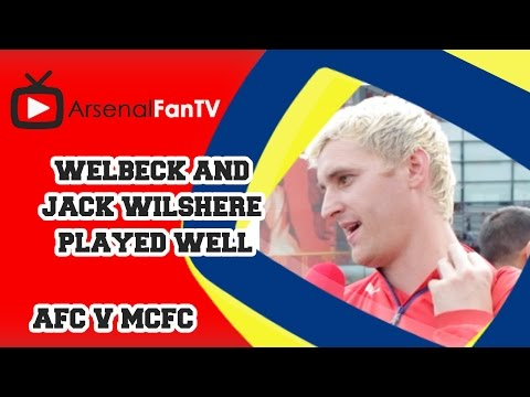 Welbeck and Jack Wilshere Played Well - Arsenal 2 Manchester City 2