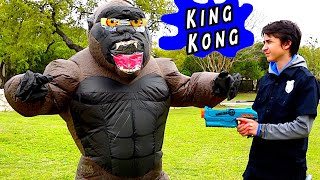 Can the Nerf Patrol Defeat King Kong?