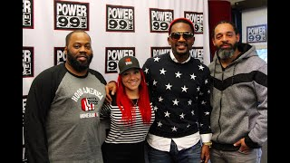 Bill Bellamy Interview W/ The Rise N Grind Morning Show
