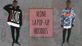 Vlone LA Pop Up Shop Hoodie Review