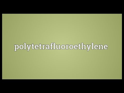 Header of polytetrafluoroethylene